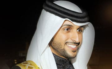 Many would say not to let the smile of Sheikh Nasser fool you