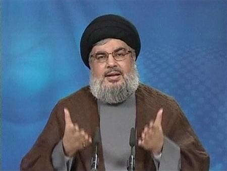 Hezbollah chief Sayyed Hassan Nasrallah accused the Saudi Arabian government of trying to sabotage the Syrian peace talks. (AFP/File)