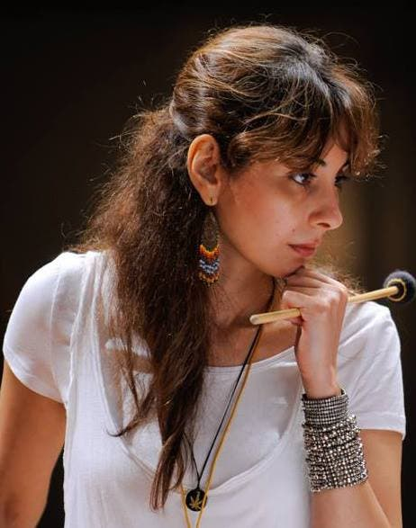 Nesma Abdel-Aziz is to take part with her Marimba band in the Vienna African Arts Festival. (Image: Facebook)