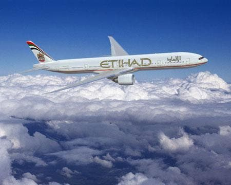By the end of 2014, Etihad Airways will have 37 aircrafts that will be able to provide the in-flight live news and sports broadcasting (Courtesy of Arab America)