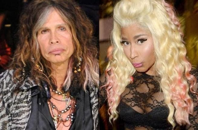 Steven Tyler/Nicki Minaj.