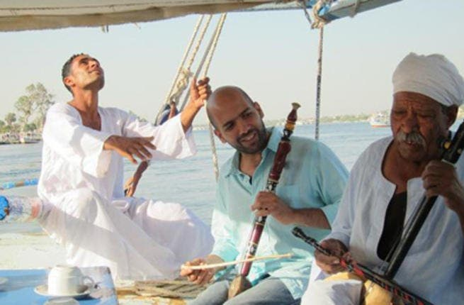 Mina Girgis, Nile Project founder discovers the river's musical roots (Photo: Courtesy of Nile Project team)