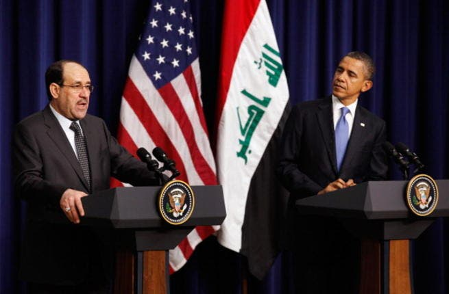 Barack Obama discusses Iraq