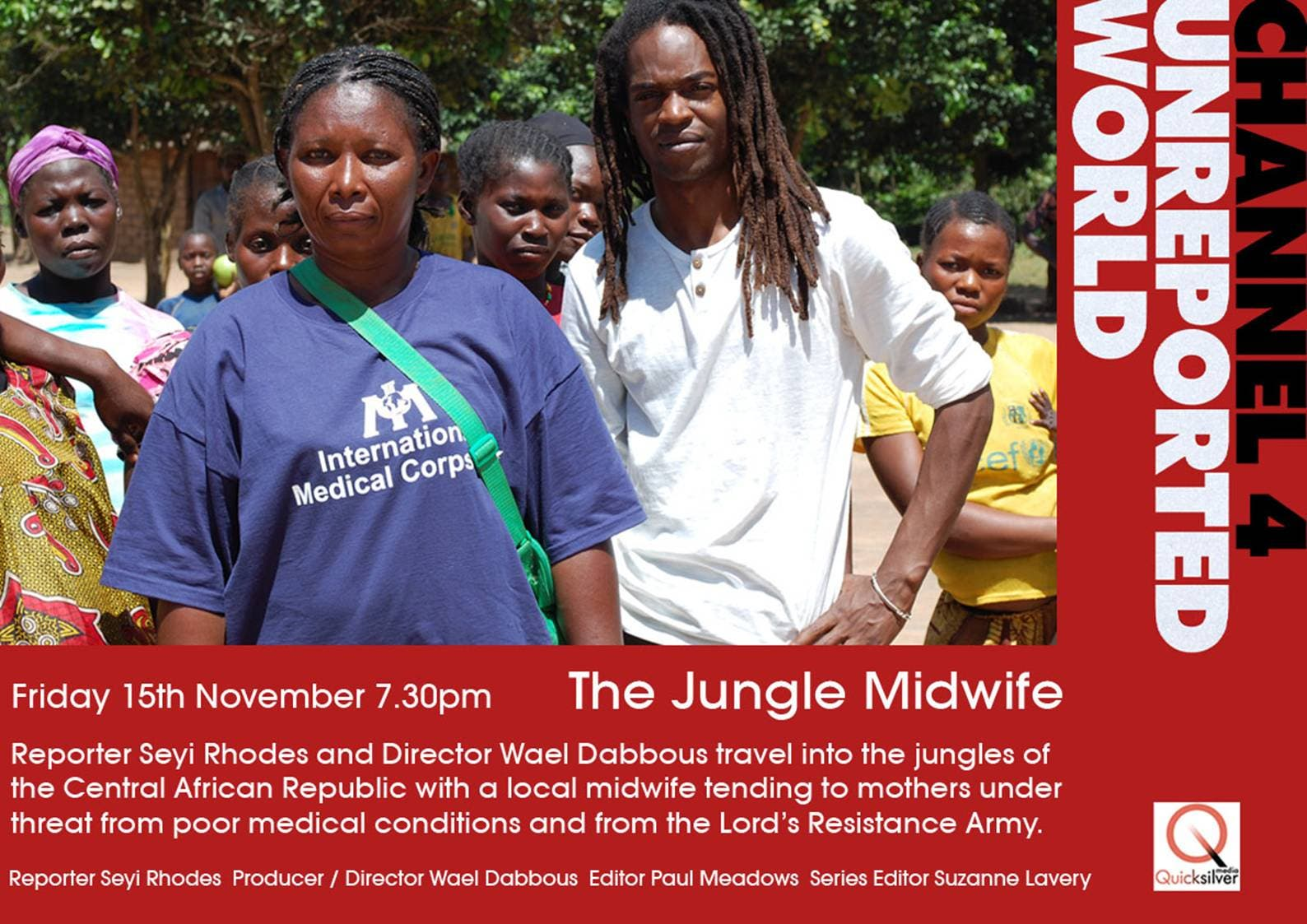 Olga Yetikoua: The Jungle Midwife with the breath of life, as seen on Channel 4's Unreported World