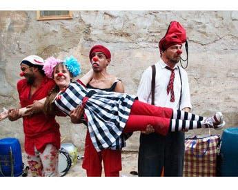 Outa Hamra crew perform (Photo: Outa Hamra's Facebook Page)