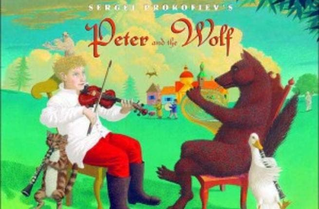 Peter and the Wolf was one of the classics performed at The Cairo Opera House's Children's gala
