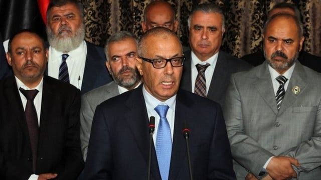 Libya's former Prime Minister Ali Zeidan was reportedly in Malta late Tuesday despite a government ban on his travel during his corruption investigation (File Archive/AFP)