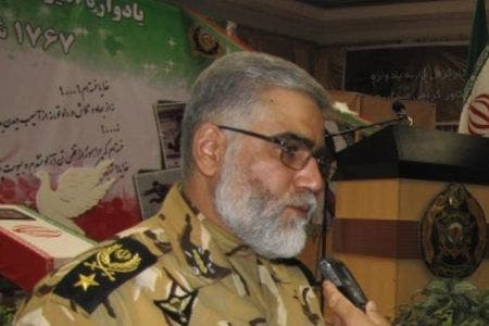 General Ahmad Reza Pourdastan reportedly said Iran is ready to help