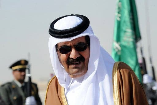 The emir of Qatar called on more economic support for 'Arab Spring' economies at the opening of the Arab league summit