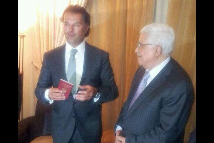 Ragheb Alama is totally excited to be a Palestinian citizen now!