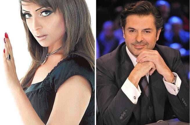Reem al Baroudi and Ragheb Alama