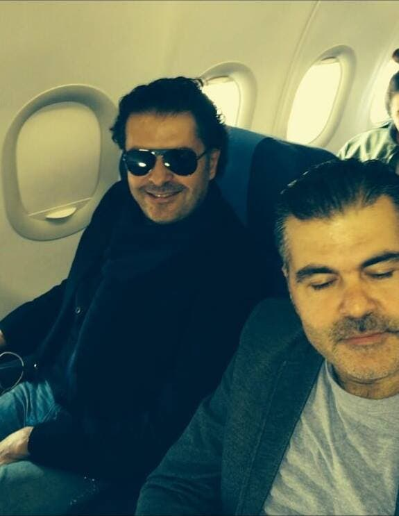 Ragheb Alama flew out to Egypt on Tuesday to celebrate Christmas in Cairo.