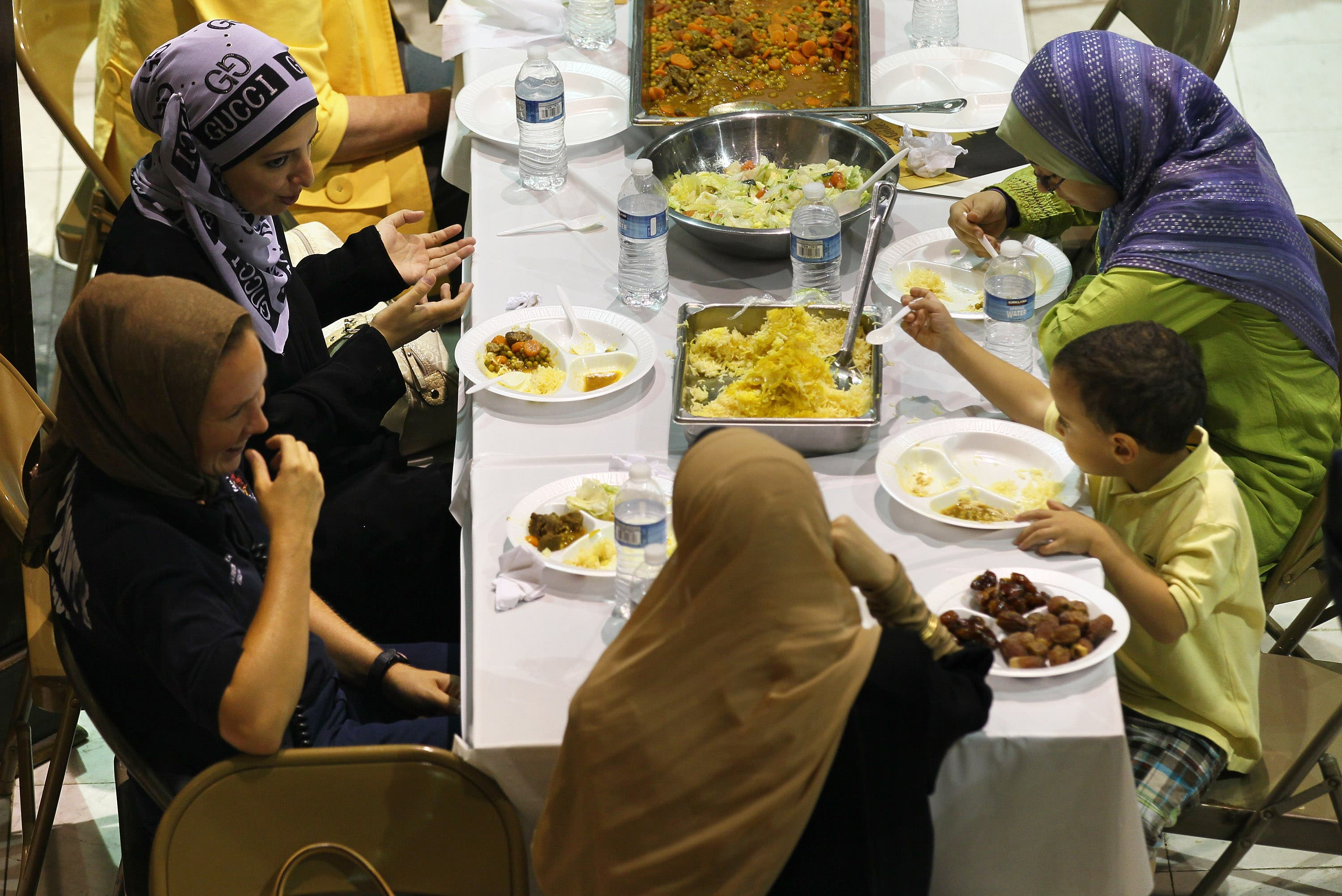 No official Palestinian 'state' -sponsored or PA  Iftars this year; instead money spared aside for such banquets will be offered 