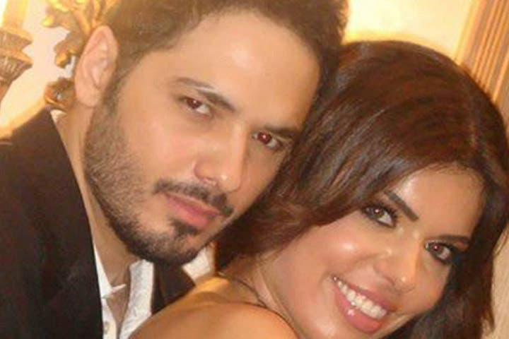 Happy couple Ramy and Dalida will tie the knot in a few days' time. (Image: Facebook)