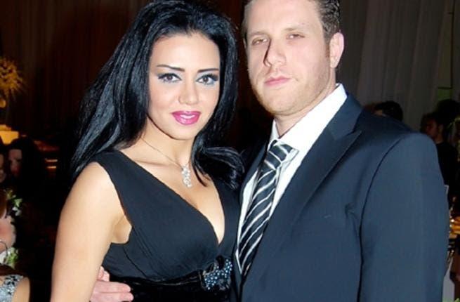 Happier times: Rania and Karim