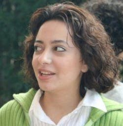 Razan Ghazzawi probably upset the wrong people in her outspoken English-language blog. (Image courtesy of