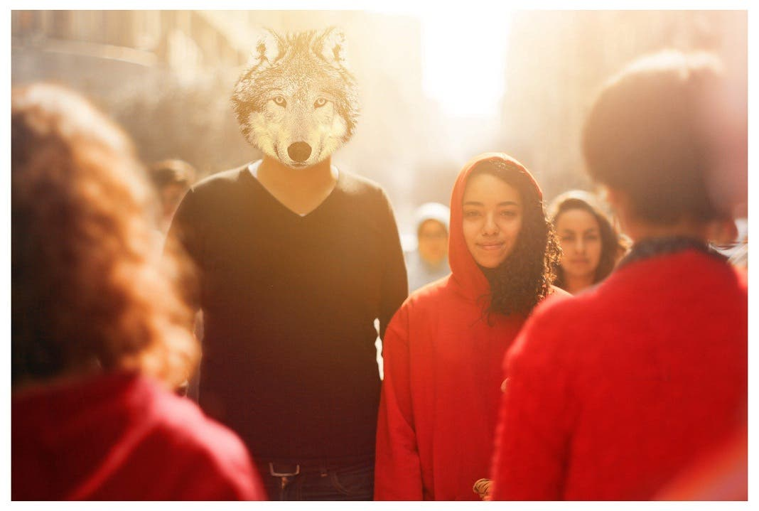 Mohamed Fathi mixes fiction and reality in one photo