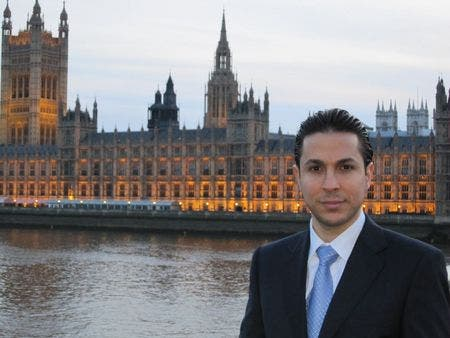 Ribal al-Assad, cousin to Bashar and son of 'War Criminal' Rifaat al-Assad treated British conservative politicians to a Westminster dinner for 65, Wednesday 7th September.