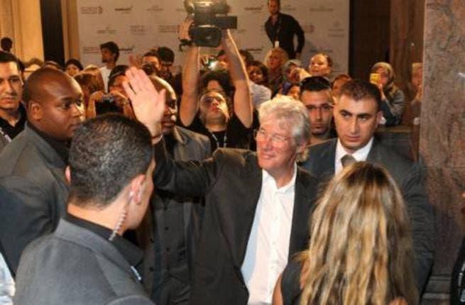 Richard Gere at the Abu Dhabi FIlm Festival (Photo: Abdel-Krim Kallouche/Gulf News)