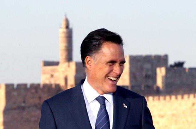 Mitt Romney vies for the Arab world