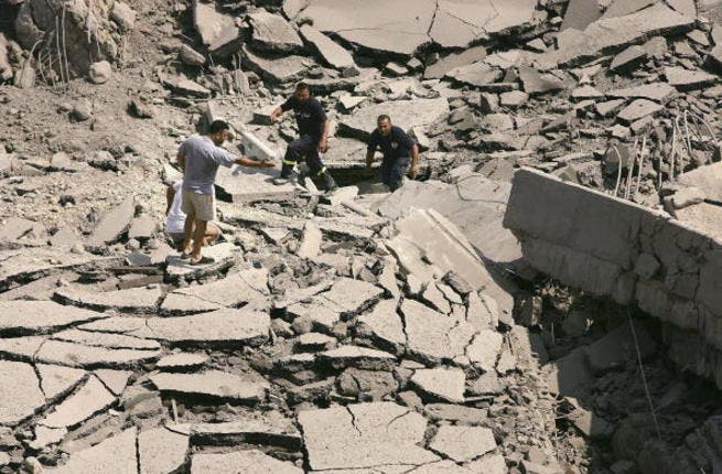 25 killed in bomb attack in Palestinian camp of Damascus. Image used for illustrative purposes