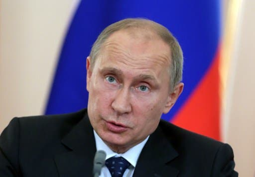 Russian President Vladimir Putin is planning a possible visit to Cairo in a bid to boost relations between the two countries (AFP/File)