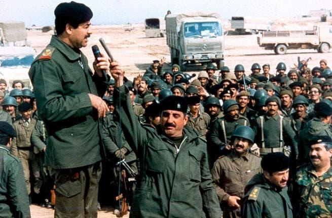 Saddam Hussein is still 'making a scene' in Ramadan 2012