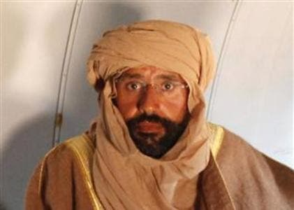 The ICC has charged Saif al-Islam with murder and persecution of civilians. (AFP/File)