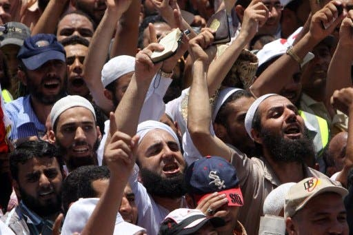 Egypt's Salafist Nour Party will neither participate in the June 28 pro-government protests by Islamist forces or the June 30 anti-government protests by opposition forces, party leader Younis Makhioun announced Tuesday. (File photo / Al Bawaba)