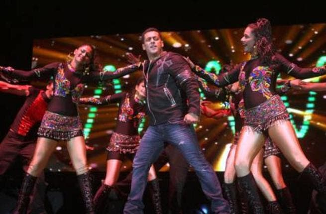 Salman Khan back in action (Photo: Gulf News)
