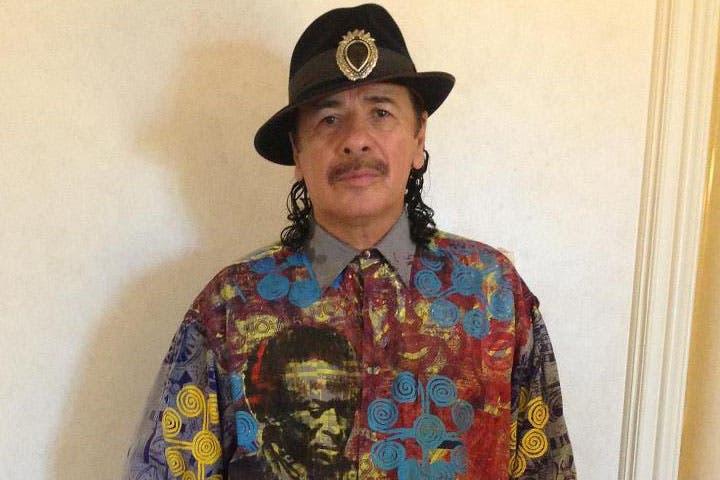 Carlos Santana will now play Dubai on Thursday February 20. (Image: Facebook)