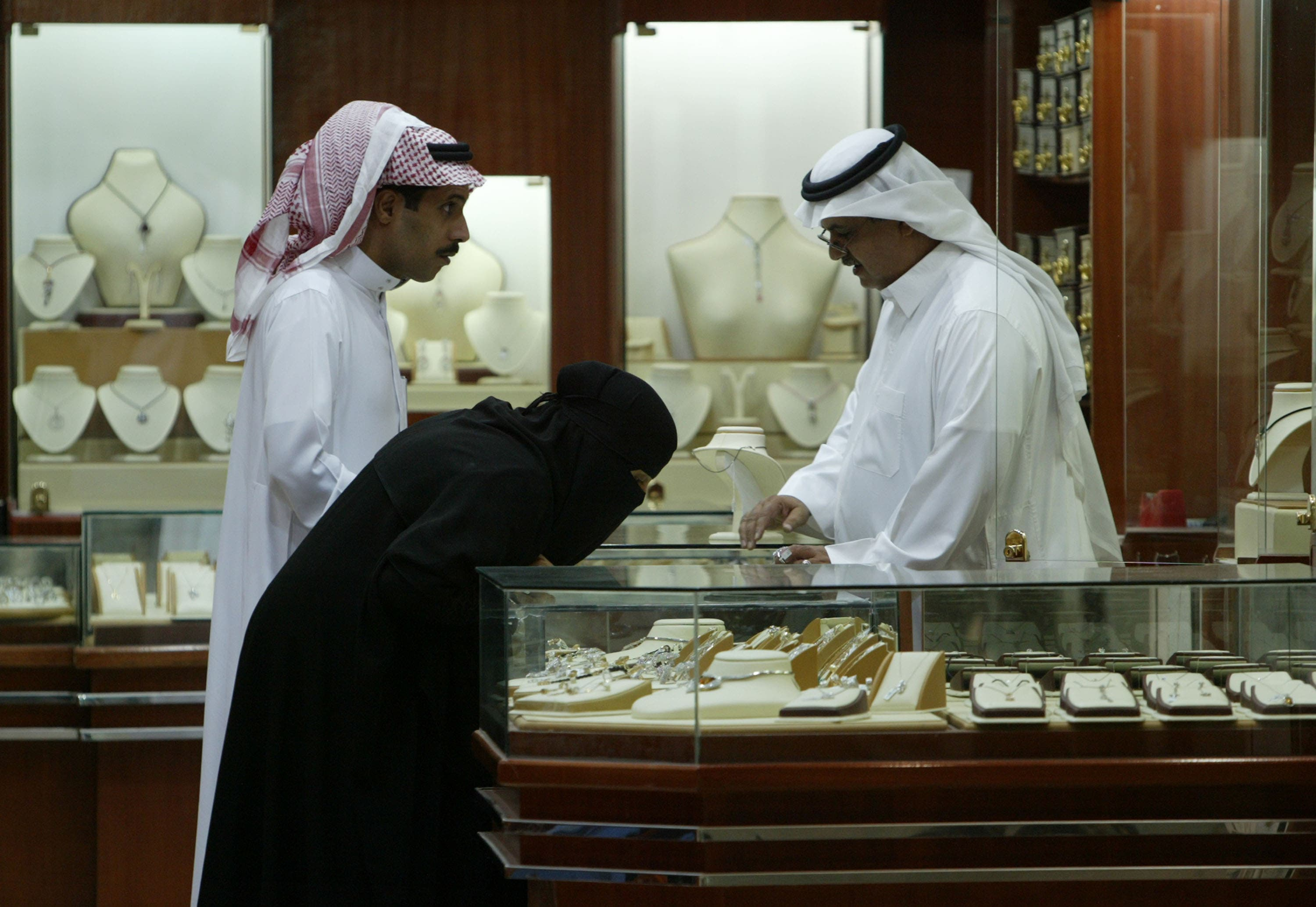 No maids for married women, in Saudi Arabia.