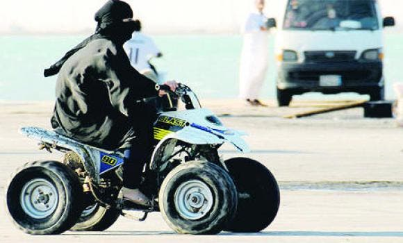 Increasing numbers of women in Saudi Arabia are taking up motorcycle riding