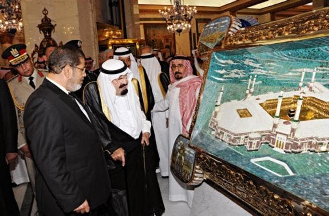 The Saudi King and the Egyptian President have met several times since Morsi's election, as the oil-rich Kingdom offers substantial financial aid packages