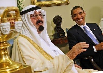 Saudi king, Obama in talks