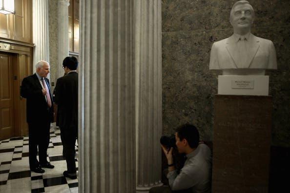 The debate heats up senate-side over Chuck Hagel