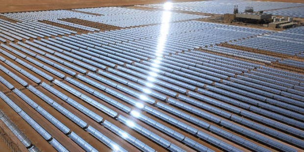 The 100MW plant will generate clean energy to power 20,000 homes in the UAE
