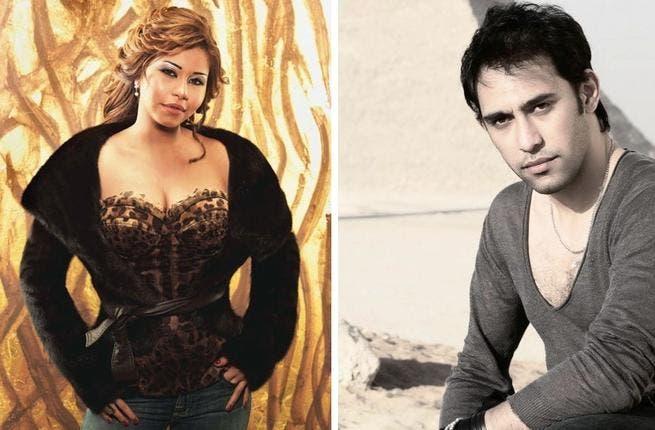 Sherine Abdel Wahab and Amr Mostafa