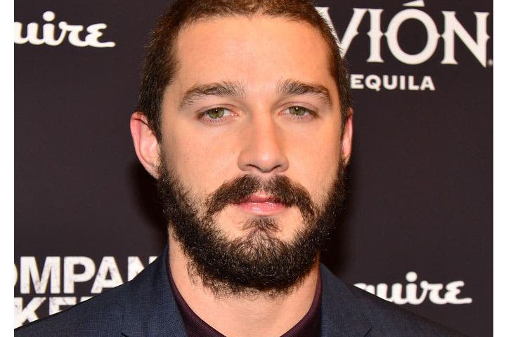 Shia LaBeouf literally causing a big stink (Image courtesy of shia-labeouf.biz)