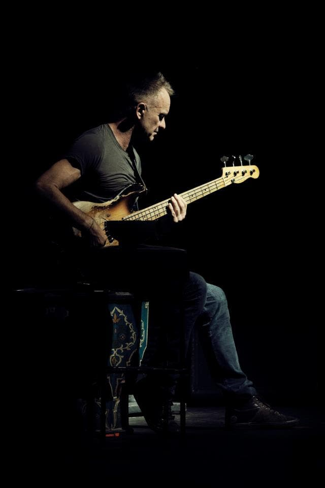 Sting is set to perform in Abu Dhabi this March (Photo: Facebook)