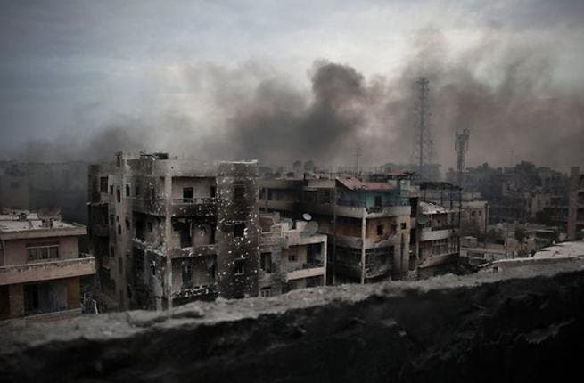 As the Syrian conflict continues, the government warn of economic catastrophe