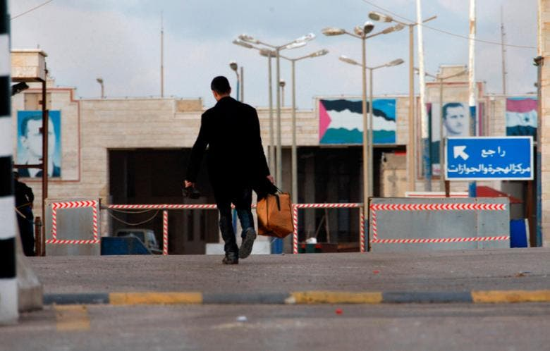 Syria's government will no longer allow Arab nationals to enter the war-torn country without a visa (Omar Ibrahim/Reuters)