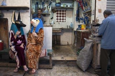 Tea with Nefertiti (Photo: Mathaf)