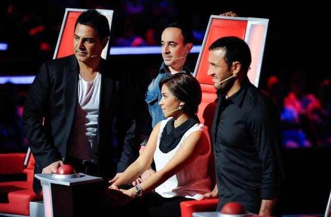 The competition heats up between the four coaches as they continue their search for 'The Voice'