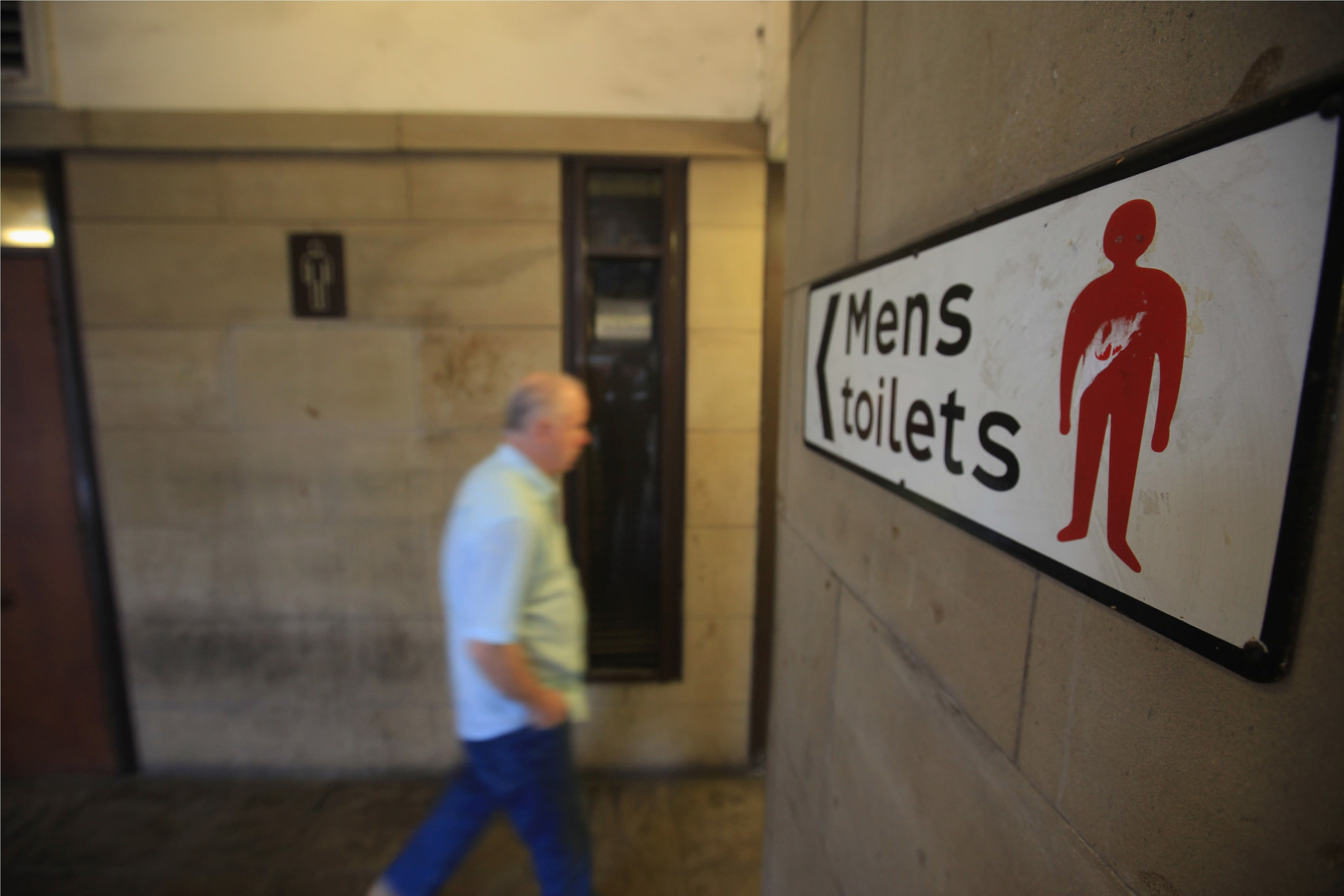 Public urination is often done covertly making perpetrators harder to catch.