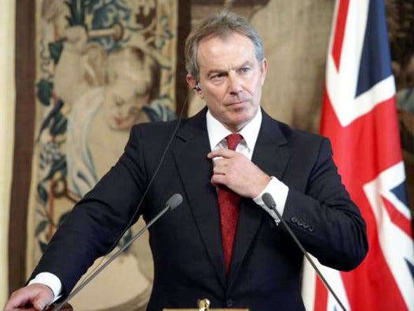 Tony Blair, former British Prime Minister has strong faith in Middle East's peace.