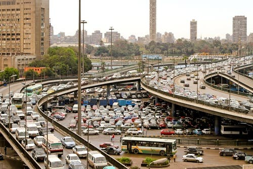 Traffic crashes in Egypt kill approximately 12,000 people every year (Shutterstock)