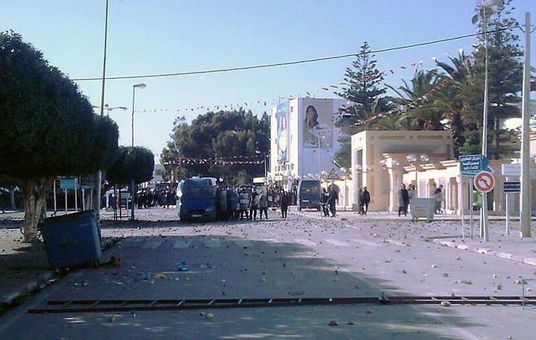 Clashes in Tunisia