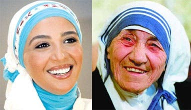 Hannan and the world's most famous nun: Mother Theresa