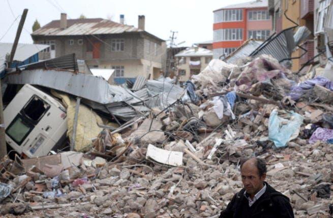 Turkey is no stranger to earthquakes: a 2011 quake strikes Van (image used for illustrative purposes)